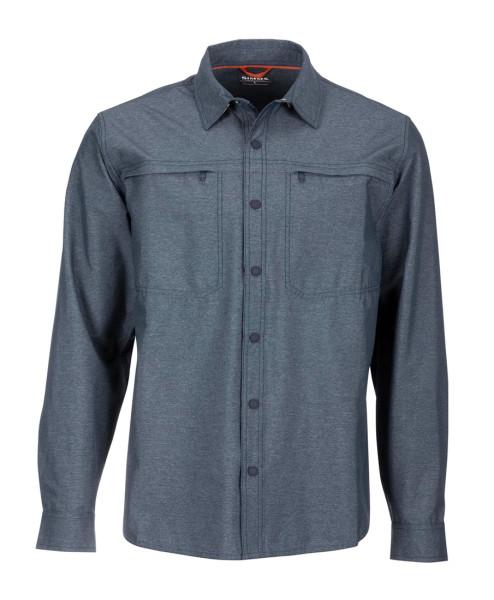 Simms Prewett Stretch Woven Shirt Hemd dark moon