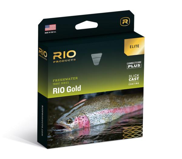 Rio Elite Gold Fliegenschnur