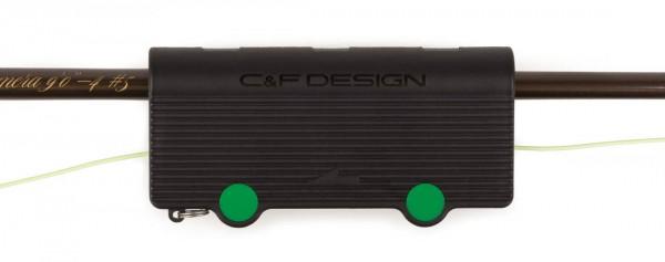 C&F Design CFA-110 Rubycell Shooting Plus Schnurreiniger Anwendungsbeispiel