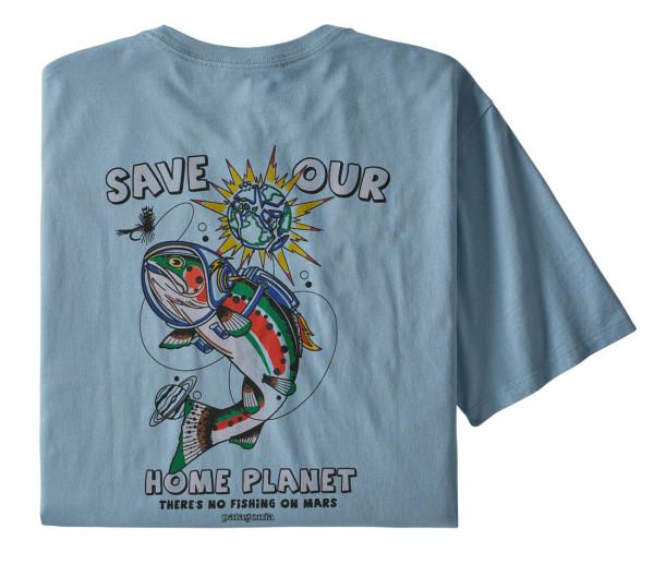 Patagonia Space Fly Organic T-Shirt BEBL