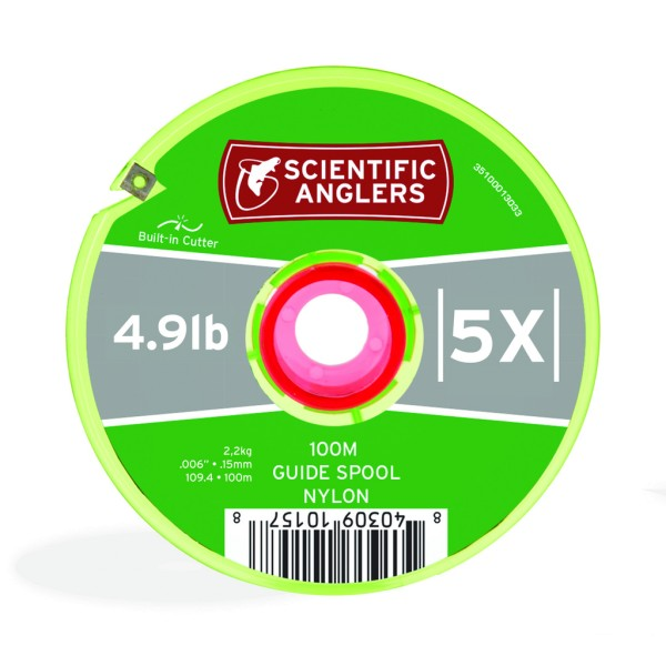 Scientific Anglers Nylon Freshwater Guide Spool Tippet 100m