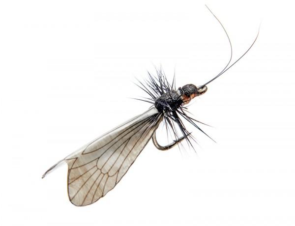 J:son Realistic Flies - Caddis Adult black