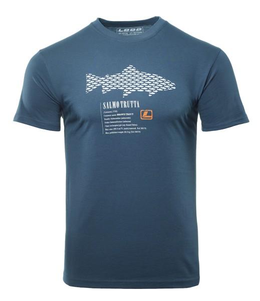 Loop Brown Trout T-Shirt dark slate