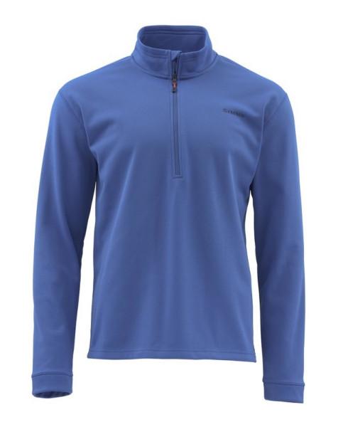 Simms Midweight Core Quarter-Zip Hemd rich blue rich blue