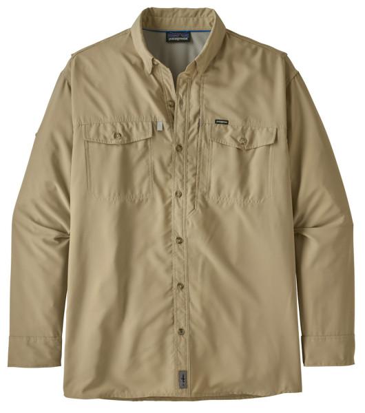 Patagonia L/S Sol Patrol II Shirt Langarmhemd ELKH El Cap Khaki (ELKH)