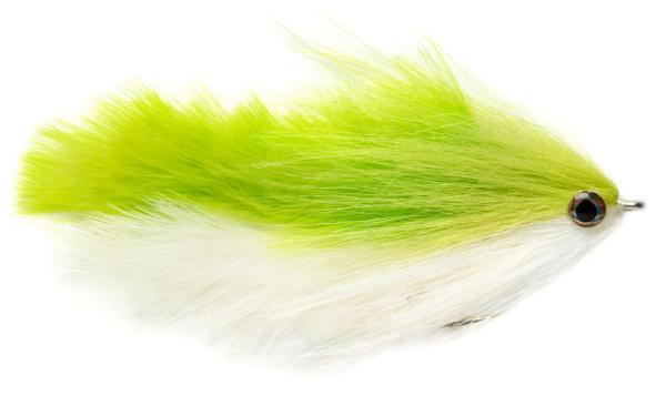 Fulling Mill Streamer - Mara-Changer chartreuse