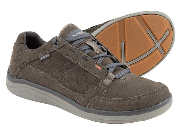 Simms Westshore Leather Schuh hickory Gr. 13