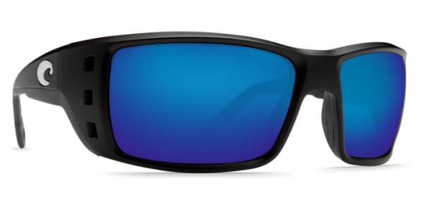 Costa Polarisationsbrille Permit Matte Black (Blue Mirror 580P) Matte Black / Blue Mirror (580P)