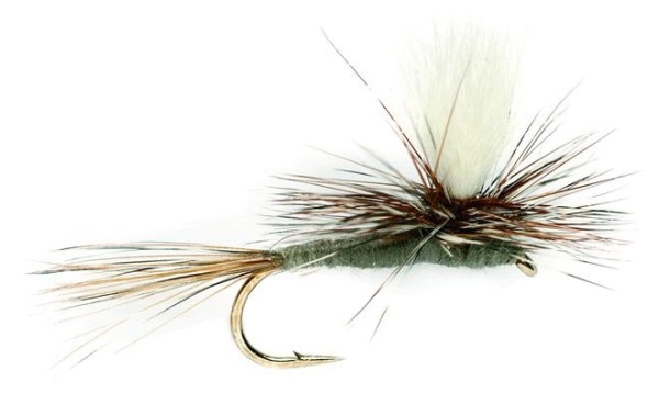 Fulling Mill Trockenfliege - Parachute Adams