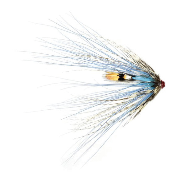 Frödin Flies Tubenfliege Sea Trout Spey Series - Silver Doctor Spey