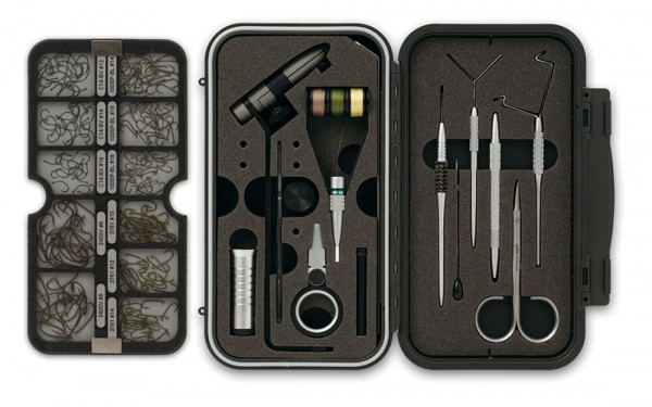 C&F Design CFT-1000 Marco Polo Fly Tying System Reise-Bindeset
