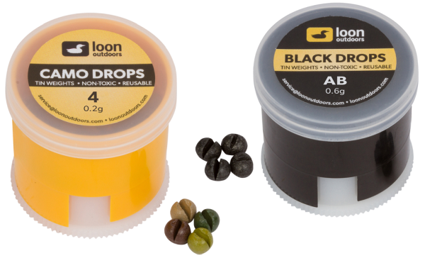 Loon Tin Drops Twist Pot - Split Shots