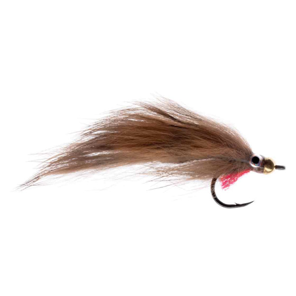 Kami Flies Streamer - Heavy Zonker grizzly brown