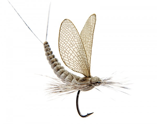 J:son Realistic Flies - Mayfly Dun olive grey # 1 - 2