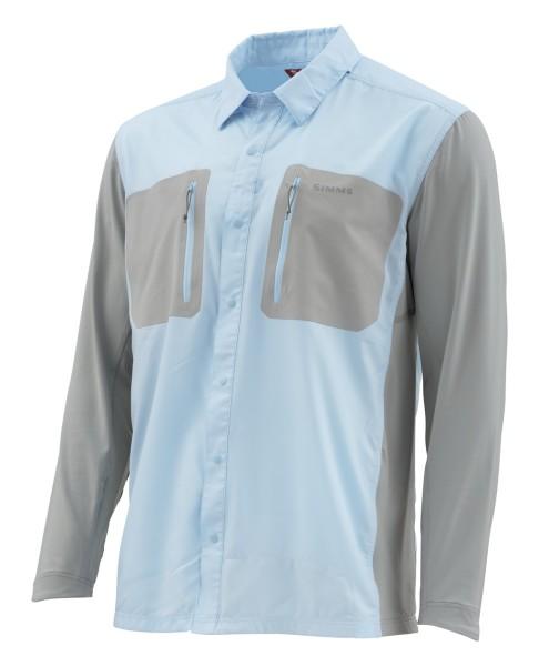 Simms TriComp Cool LS Shirt Hemd mist