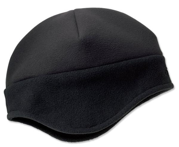 Orvis Windproof Fleece Hat Mütze black
