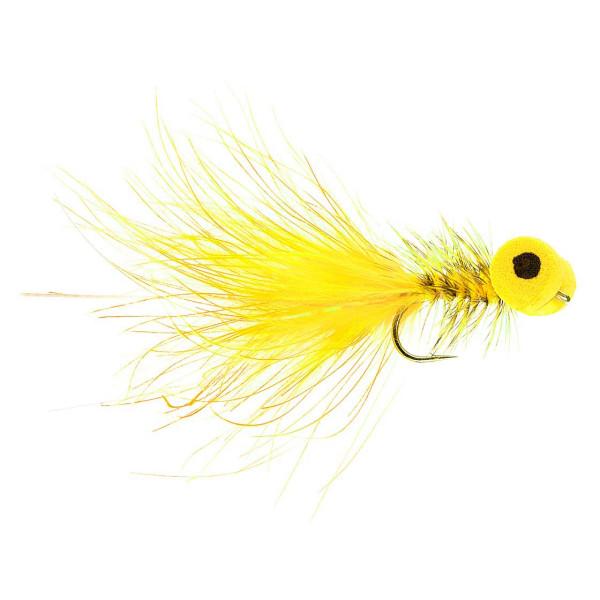 Kami Flies Streamer - Booby yellow