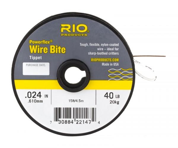 Rio Powerflex Wire Bite Stahlvorfach