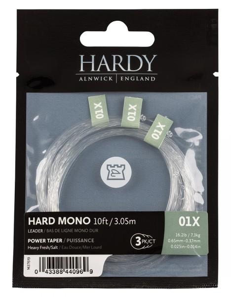 Hardy Hardmono Power Taper Salt 10ft 3er Pack