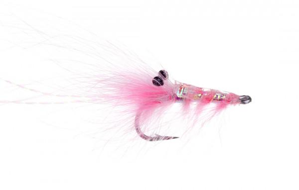 Meerforellenfliege Runars CDC Reke pink