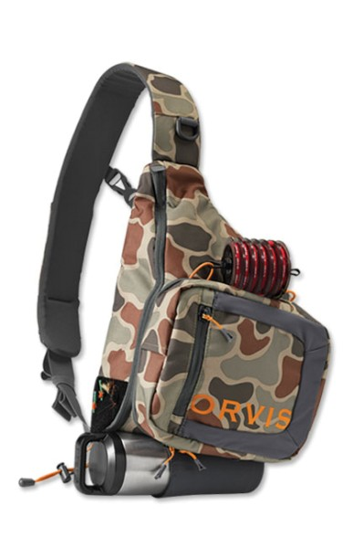 Orvis Safe Passage Sling Pack brown camo brown camo