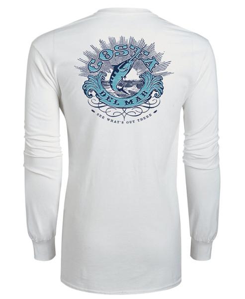 Costa Classic Shirt Longsleeve white