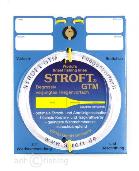 Stroft GTM Vorfachmaterial tapered leader 7,5 ft, 9 ft, 12 ft und 15 ft