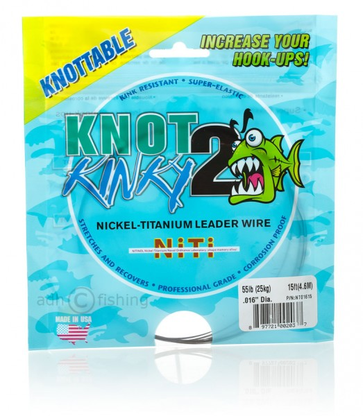Knot2Kinky Nickel Titan Vorfach Draht