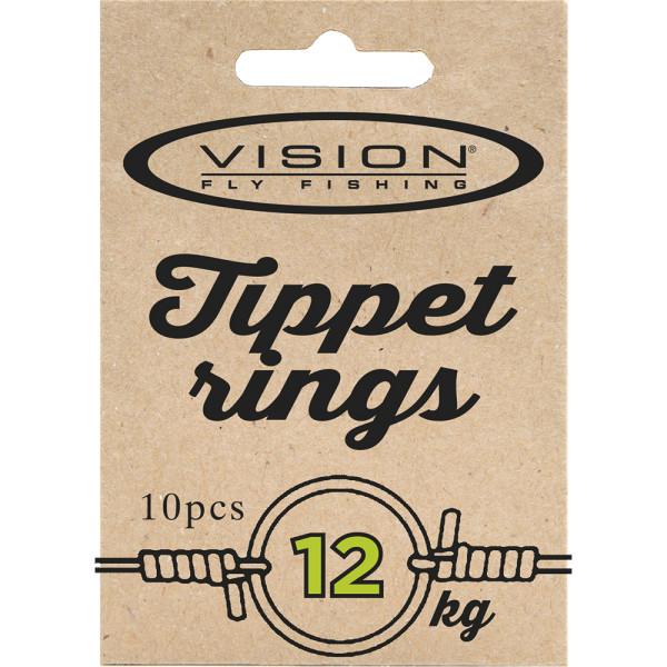 Vision Tippet Ringe Vorfachringe bzw. Pitzenbauerringe