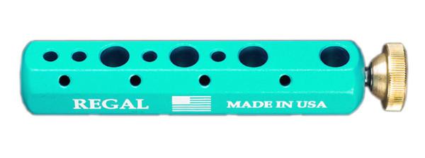 Regal Tool Bar - Werkzeughalter für Bindestöcke tropical teal