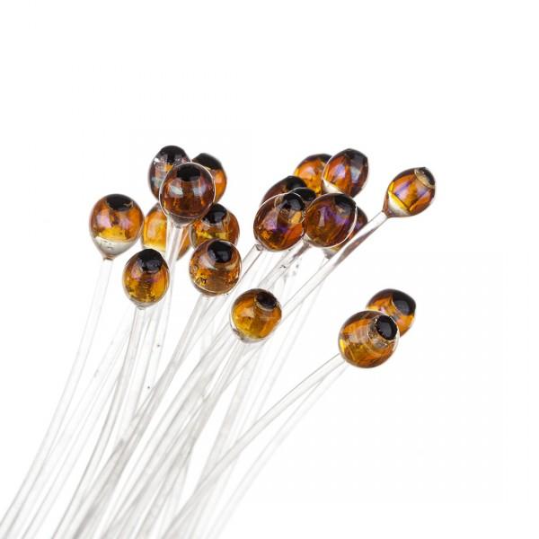 Funky DNA Shrimp Eyes Shrimp- und Krebsaugen dark amber pearl