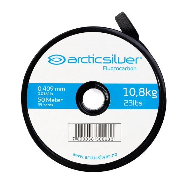 ArcticSilver Fluorcarbon Tippet auf Spule