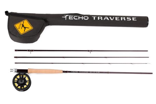 Echo Traverse Kit Set Einhand Fliegenrute