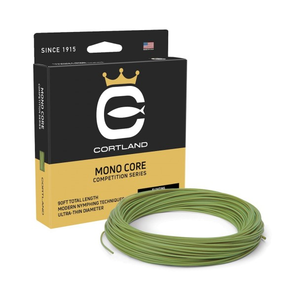 Cortland Competition Mono Core Level Fliegenschnur
