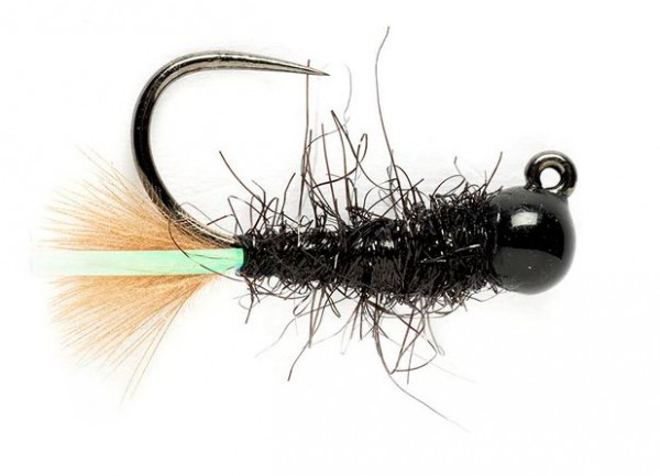 Fulling Mill Nymphe - Tungsten KJ Black Jig Barbless