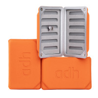adh-fishing Foam Fly Box Fliegendose Medium Ultralight orange