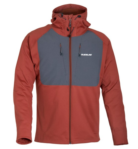 Guideline Alta Hood Fleece Jacket brick