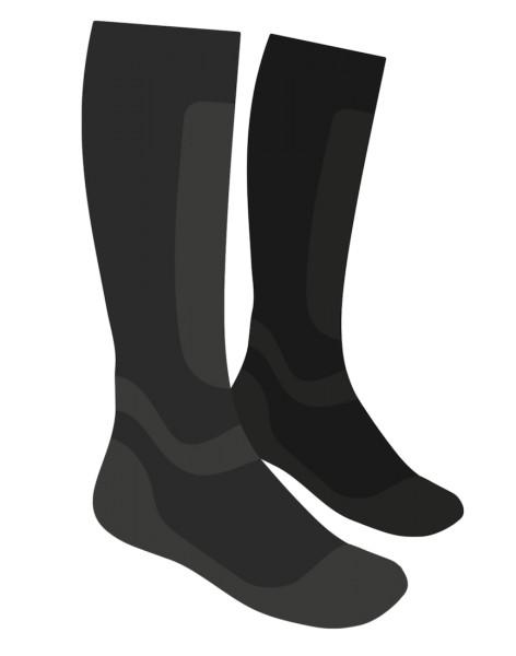 Loop Merino Tech Sock Watsocke black dark slate
