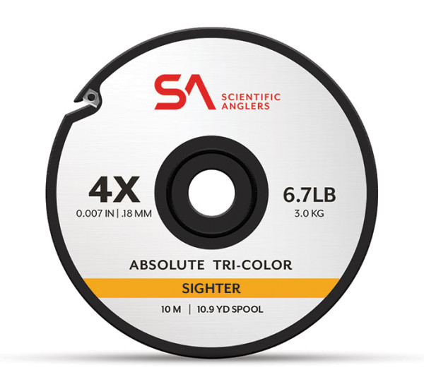 Scientific Anglers Absolute Tri-Color Sighter Tippet