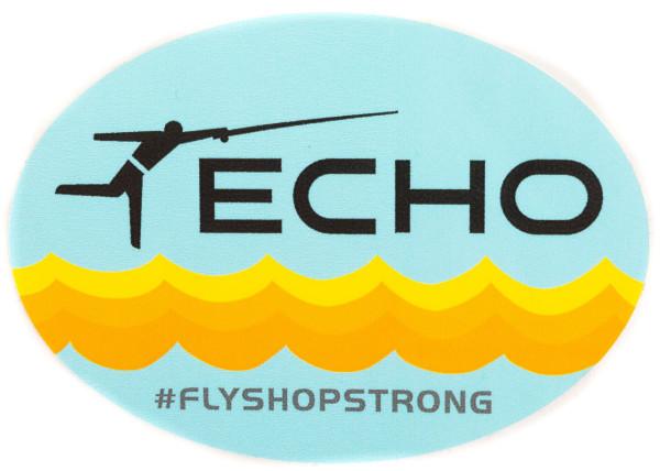 Echo FlyShopStrong Sticker