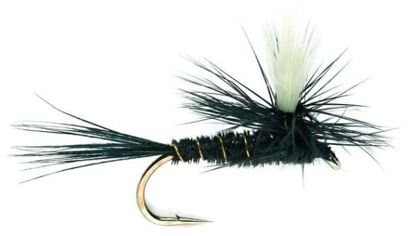 Fulling Mill Trockenfliege - Parachute Black Gnat