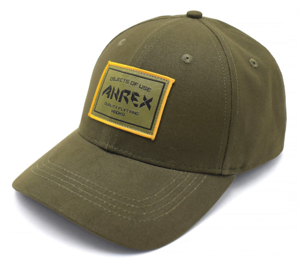 Ahrex Woven Patch Cap Schirmmütze loden