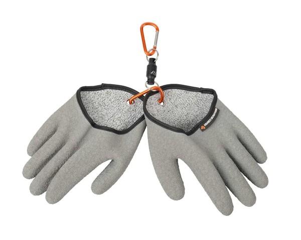Savage Gear Aqua Guard Glove Schutzhandschuh grau (M, L)