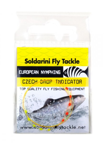 Soldarini Fly Tackle Czech 10 Drop Indicator Sichthilfe