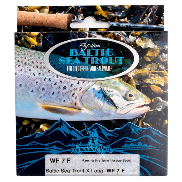 Mountain River Baltic Seatrout 2.0 X-Long Fliegenschnur Floating