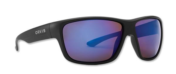 Orvis Polarisationsbrille Madison black (brown - blue mirror) Matte Black/Brown (Blue Mirror)