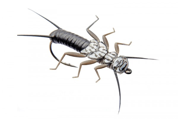 J:son Realistic Flies - Stonefly Nymph black