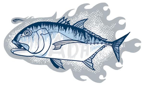 adh-fishing GT Sticker