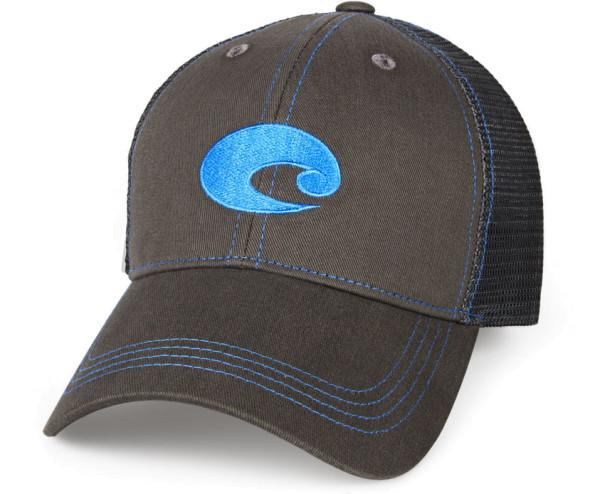 Costa Neon Trucker Graphite Hat neon blue