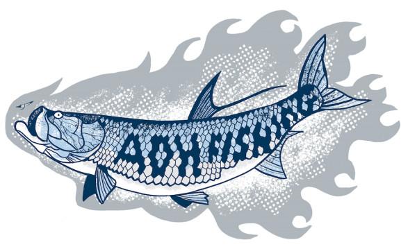adh-fishing Tarpon Sticker